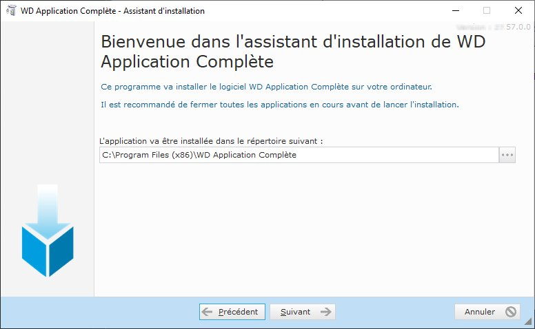 Assistant d'installation